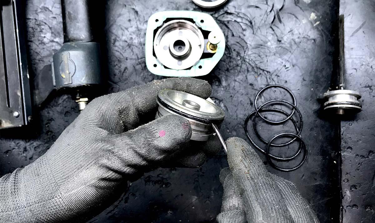 riparazione utensili pneumatici a pesaro, forlì-cesena - pikart srl